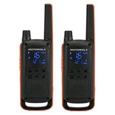 MOTOROLA T82 Walkie Talkie 10Km 16CH Pack Duo