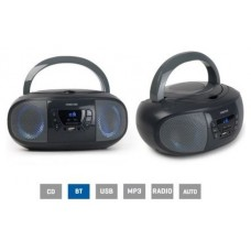 Radio CD USB BOOM-GO-G Fonestar Gris