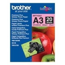 PAPEL BROTHER INNOBELLA BRILLO A3 20H