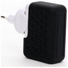 Bluestork BS-220-4USB-PBK Interior Negro, Color blanco cargador de dispositivo móvil
