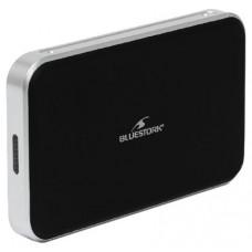 "Bluestork BS-EHD-25/COMBO/30 Carcasa de disco duro/SSD 2.5"" Negro, Plata recinto de almacenaje"