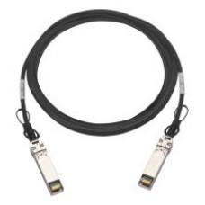QNAP CAB-DAC30M-SFPP cable de fibra optica 3 m SFP+ Negro