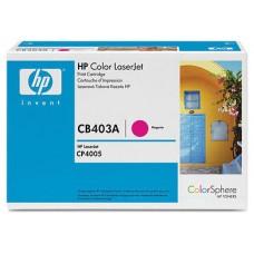 (D) HP TONER 642A MAGENTA LASERJET CP4005 (CB403A)