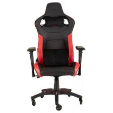 Corsair T1 Race Silla para videojuegos de PC Negro, Rojo