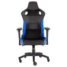 Corsair T1 Race Silla para videojuegos de PC Negro, Azul