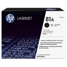 HP Cartucho de tóner original LaserJet 81A negro