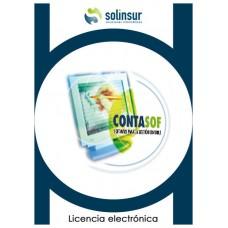 SOFTWARE CONTASOF LICENCIA ELECTRO CONTABILIDAD