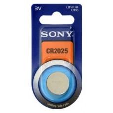 Blister 1 pila  Sony CR2025 Litio ( 20 d . x 2.50 alt