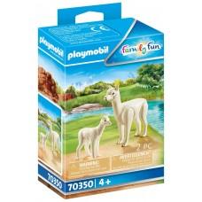 Playmobil diversion en familia alpaca con