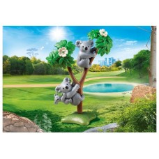 Playmobil diversion en familia koalas con