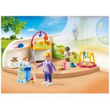 Playmobil ciudad habitacion bebes