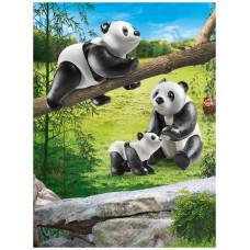 Playmobil diversion en familia pandas con