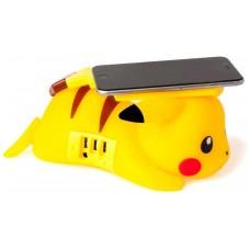 Pikachu cargador inalambrico pokemon