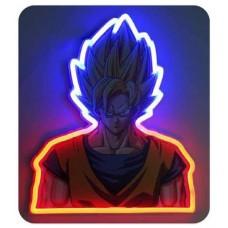 Goku mural neon 30 cm dragon