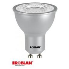 LED DICROICA ROBLAN SMD-7W-GU10-570LM-6500K-FR-100