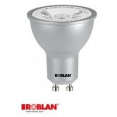 LED DICROICA ROBLAN SMD-7W-GU10-620LM-6500K-FRIA-6