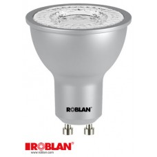 LED DICROICA ROBLAN SMD-7W-GU10-570LM-3000K-CA-100