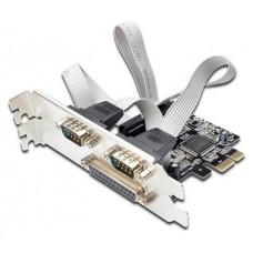 Ewent EW1158 tarjeta y adaptador de interfaz Interno Paralelo, De serie, VGA