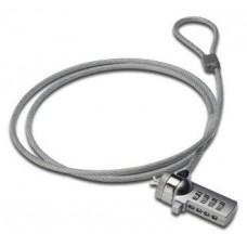 Ewent EW1241 cable antirrobo Plata 1,5 m