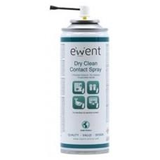 Ewent EW5614 kit de limpieza para computadora Pantallas / Plásticos, Universal Espray para limpieza de equipos 200 ml