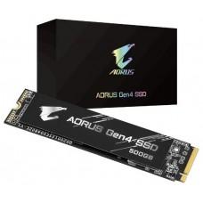 500 GB SSD M.2 2280 AORUS NVME Gen4 PCIe GIGABYTE (Espera 4 dias)