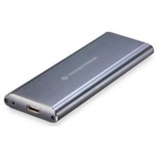 CAJA CONCEPTRONIC EXT. HDD M.2 USB-C 3.1 GRIS