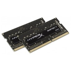 MEMORIA KINGSTON HYPERX IMPACT BLACK SODIMM DDR4 16GB KIT2 2400MHz CL14