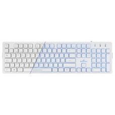 Bluestork KB-LUMI USB QWERTY Español Color blanco teclado