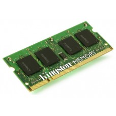 MODULO MEMORIA RAM S/O DDR3 2GB PC1600 KINGSTON RETAIL (POR