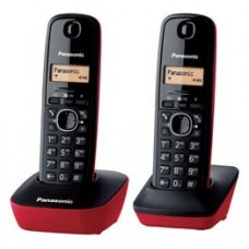 Dect duo Panasonic 1612 rojo