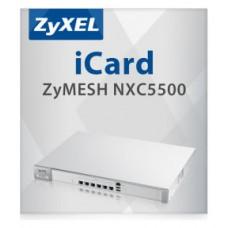 Zyxel iCard ZyMESH NXC5500 Actualizasr