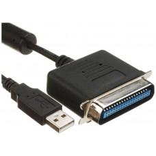 ADAPTADOR  USB A PARALELO 36 PINES  LL-USP-1284M (Espera 5 dias)