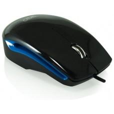 3GO ratón óptico USB Advanz Negro/Azul
