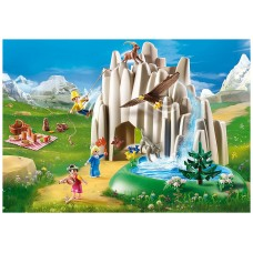 Playmobil heidi lago con heidi pedro