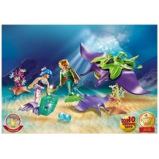 Playmobil fantasia magico recolectores perlas con