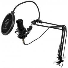 Micrófono condensador profesional phoenix con brazo