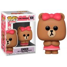 Funko pop animacion line friends choco