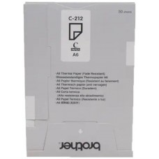 Pack papel termico brother c212s a6