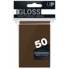 Fundas standard ultra pro color marron