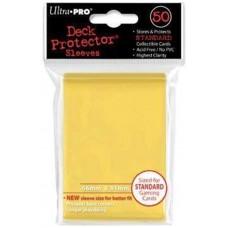 Fundas standard ultra pro color amarillo