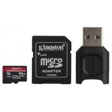 Kingston MLPMR2 microSDXC UHS-II 64GB c/a