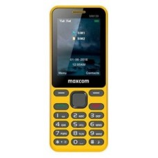 MOVIL SMARTPHONE MAXCOM CLASSIC MM139 AMARILLO