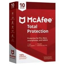 Antivirus mcafee total protection 2019 10