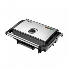 Sandwichera INOX Placa Lisa 1500W Temperatura Regulable MUVIP