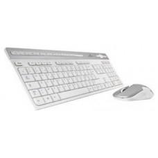 Blue Element PACK-WL-PC-BE/SP teclado RF inalámbrico QWERTY Español Blanco