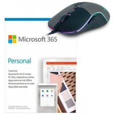 PROMO MICROSOFT OFFICE 365 PERSONAL + RATON M90