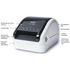 Impresora etiquetas brother ql - 1110nwb 110mm usb