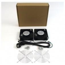 Accesorio Rack - Doble ventilador 12cm para racks (Espera 3 dias)