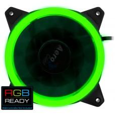 Aerocool Rev RGB Carcasa del ordenador Ventilador 12 cm Negro