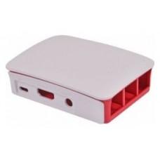 Raspberry caja oficial para Pi 3 - Color rojo/blanco